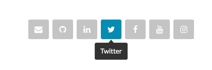 saas social media icons