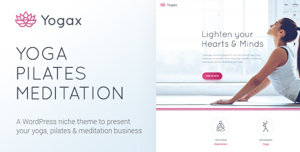 yoga wp theme