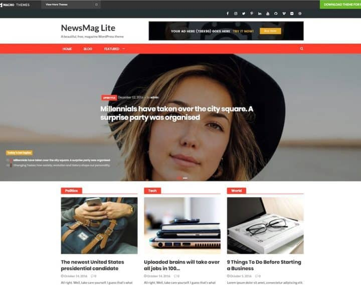 news-mag-lite-free-wordpress-template