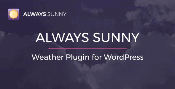 Always-Sunny-Plugin-WordPress-Weather-Widget-and-Shortcode