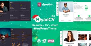 -RyanCV-CV-Resume-Theme