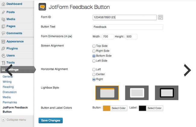 feedback plugin