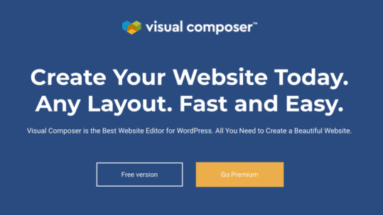 visual composer website builder coupon