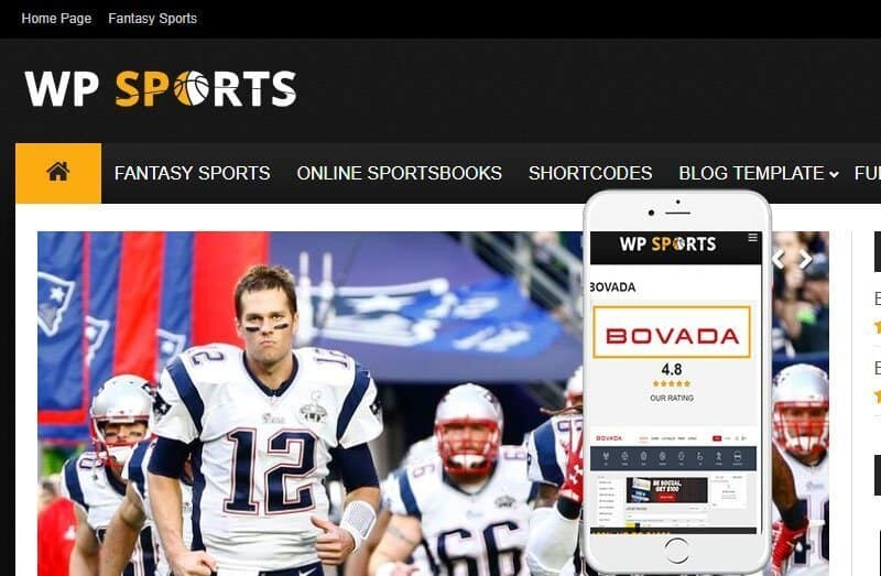 WP Sports theme