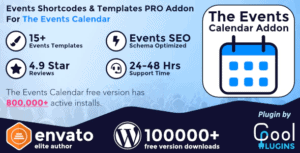 Events-Shortcodes-Templates-Pro-Addon-For-The-Events-Calendar.