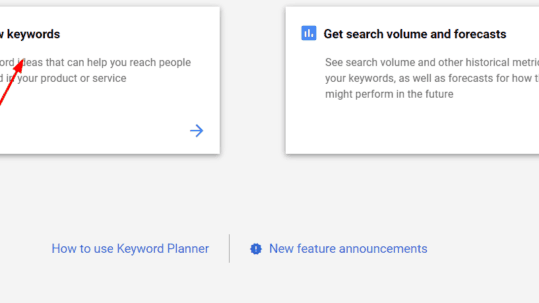 How to Use Google Keyword Planner to Find New Keywords Free