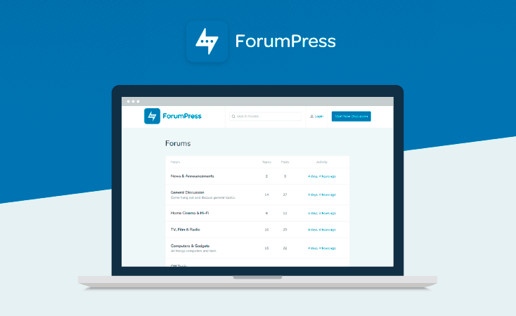 wordpress forum themes