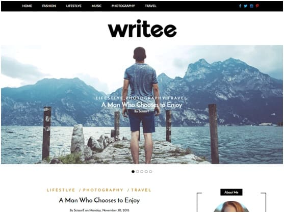 interesting wordpress themes