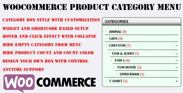 Woocommerce-Category-Accordion-Plugin