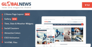 Globalnews-News-Magazine-HTML5-Template