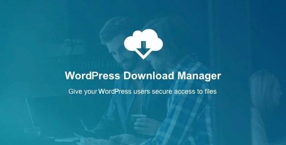 WordPress-File-Download-Manager