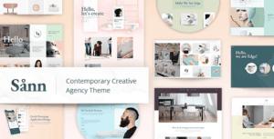 Sånn - Design Portfolio Theme