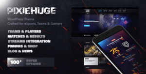 PixieHuge-eSports-Gaming-Theme-For-Clans-Organizations