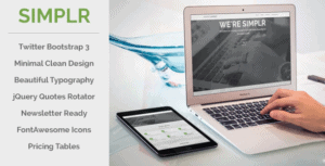 Simplr-Bootstrap-3-Responsive-Landing-Page