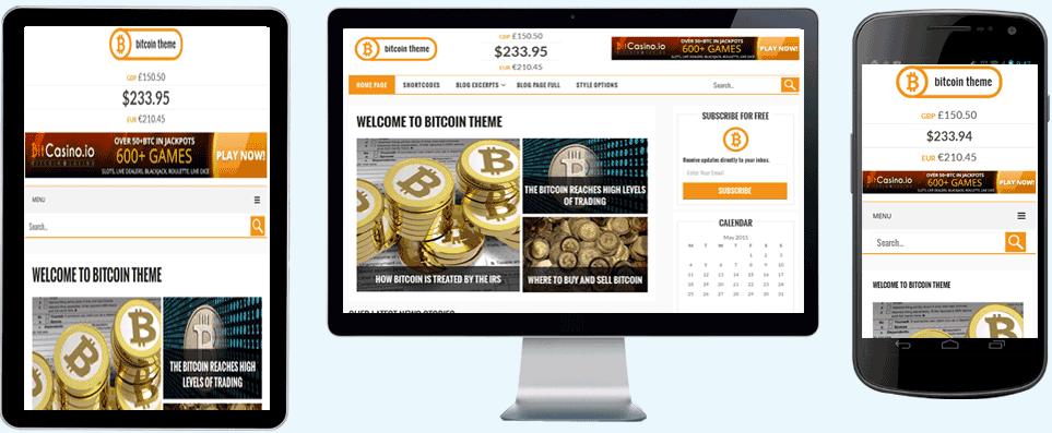 bitcoin theme