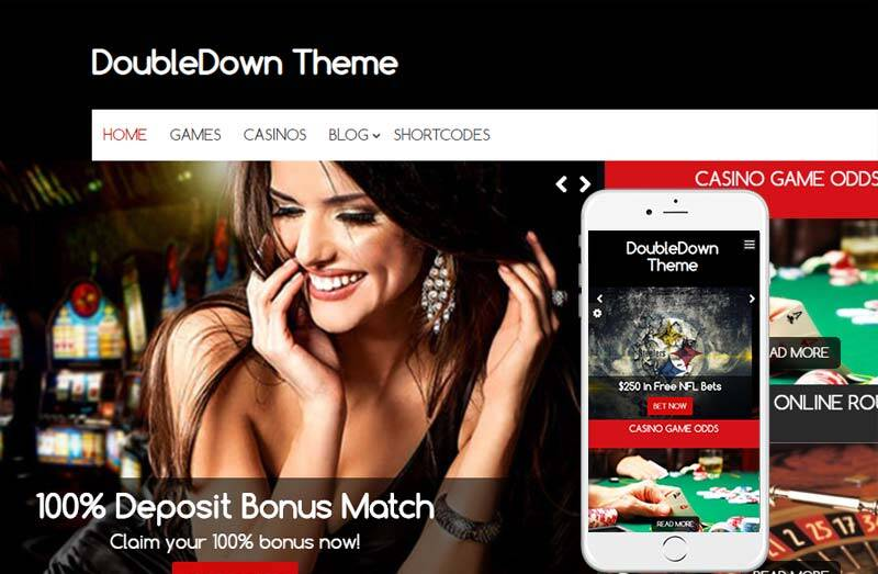 casino theme for WordPress