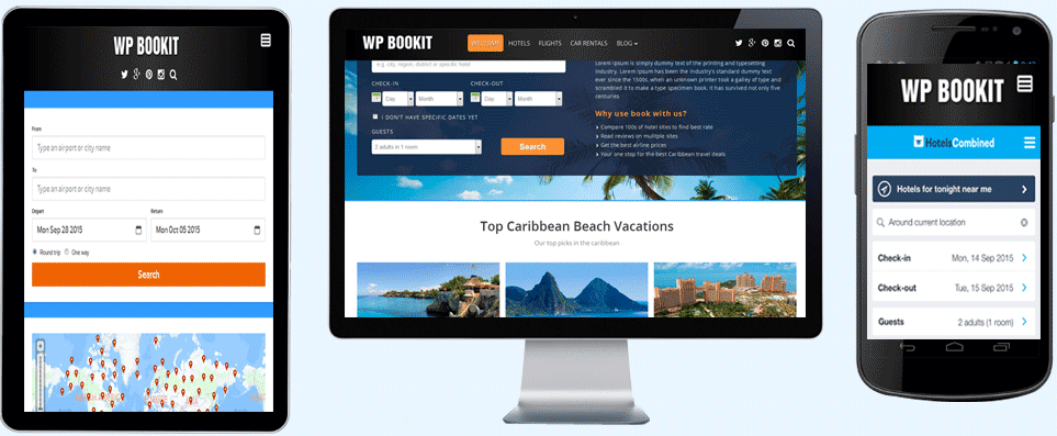 wp bookit theme