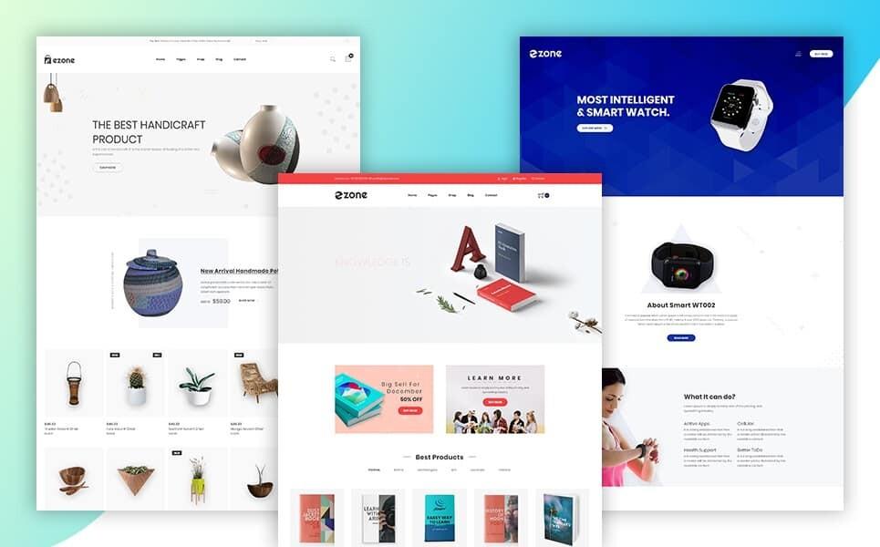 Best eCommerce Website Templates