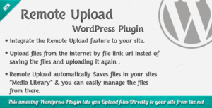 Remote-Upload-WordPress-Plugin