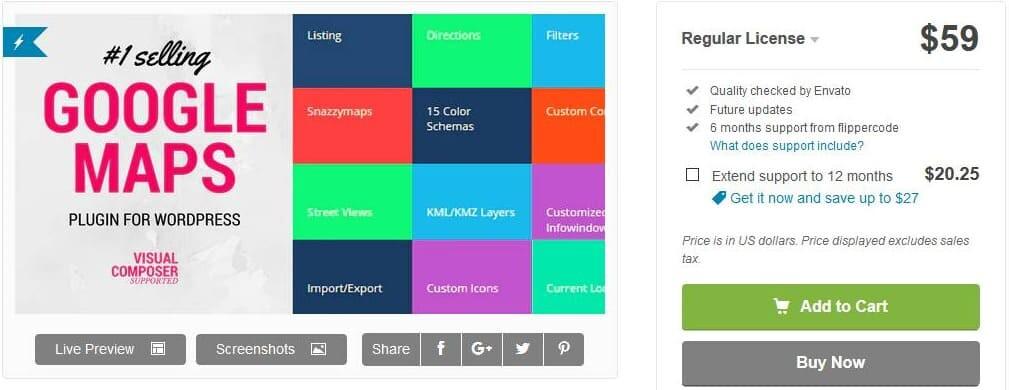 best WordPress map plugin