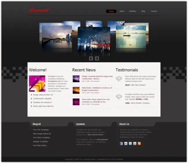 Free-Dreamweaver-Templates
