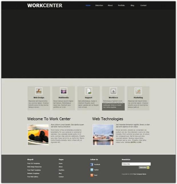 Best-Free-Dreamweaver-Templates-Designs