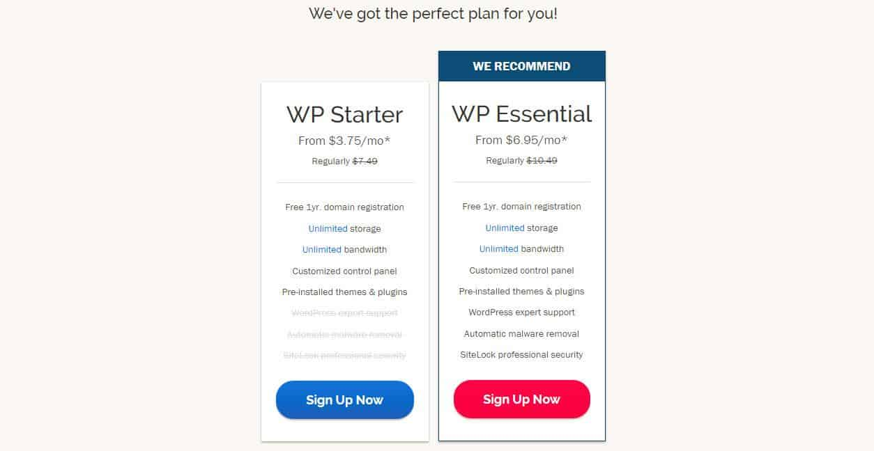 ipage-cheap wordpress hosting price