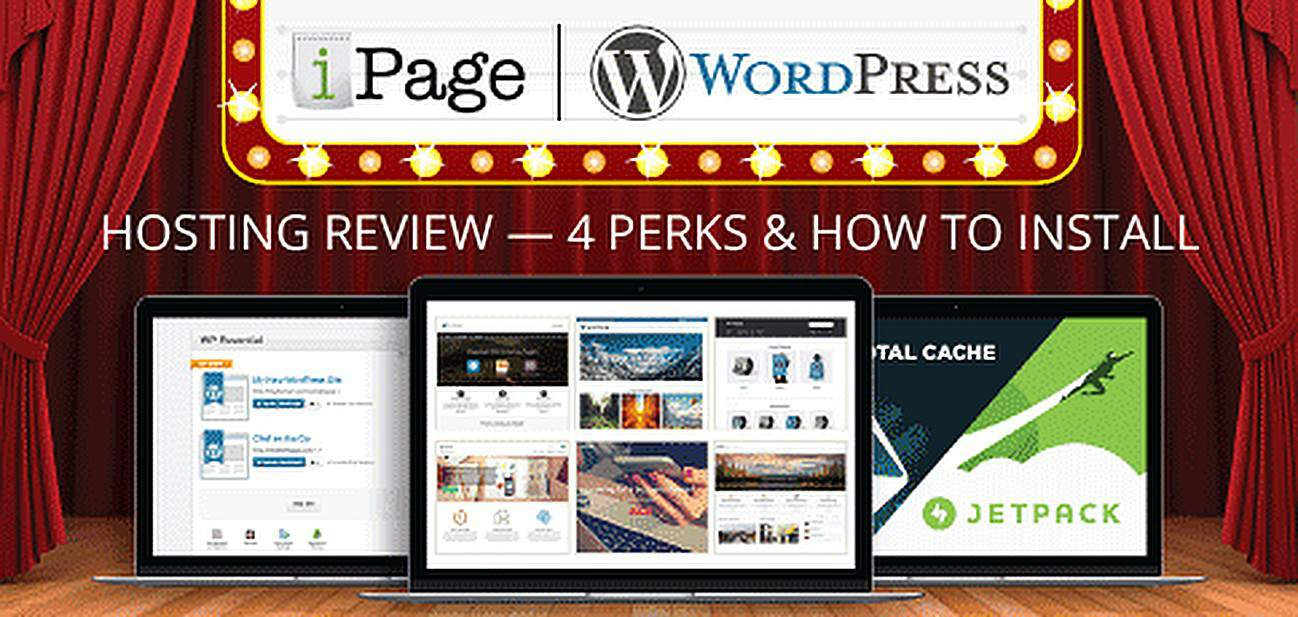 ipage - cheap wordpress hosting service