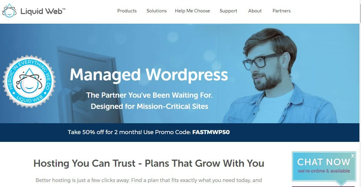 liquid web- best managed wordpress hosting
