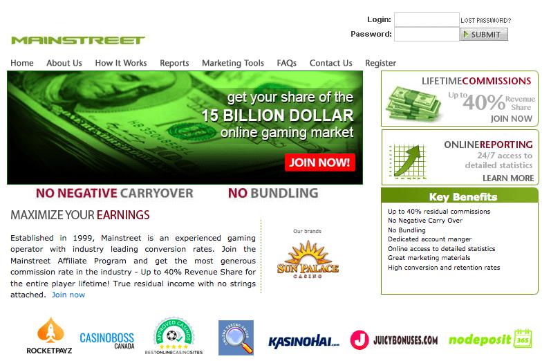 Mainstreet-Online-Casino-Affiliate-Program