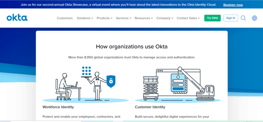 okta identity management email hosting