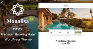 Monalisa-wordpress hotel-theme