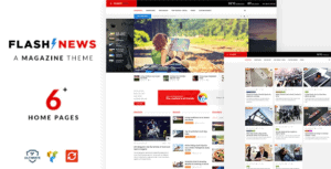 Flash-Newspaper-WordPress customizableTheme