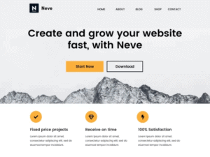 NEVE CUSTOMIZABLE WORDPRESS THEMES