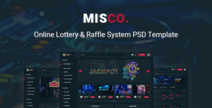 Misco-Online-Lottery-Raffle-System-PSD-Template.