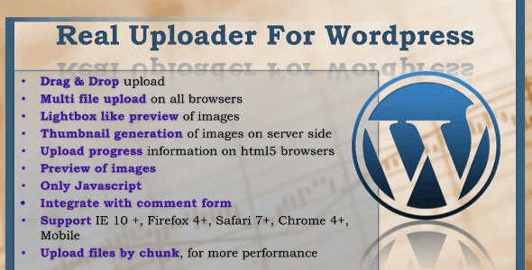 Real-Uploader-for-Wordpress.