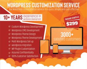 Wordpress-customization-Service-Wordpress-theme-customization