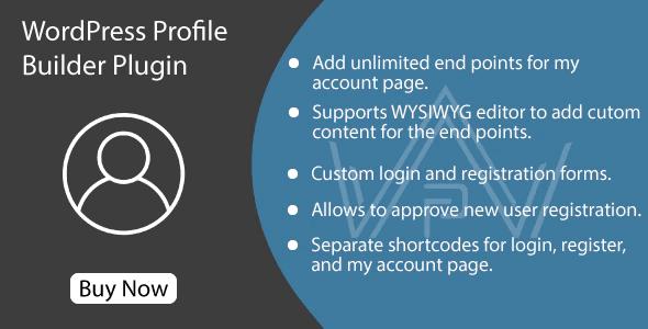WordPress-Profile-Builder-Plugin