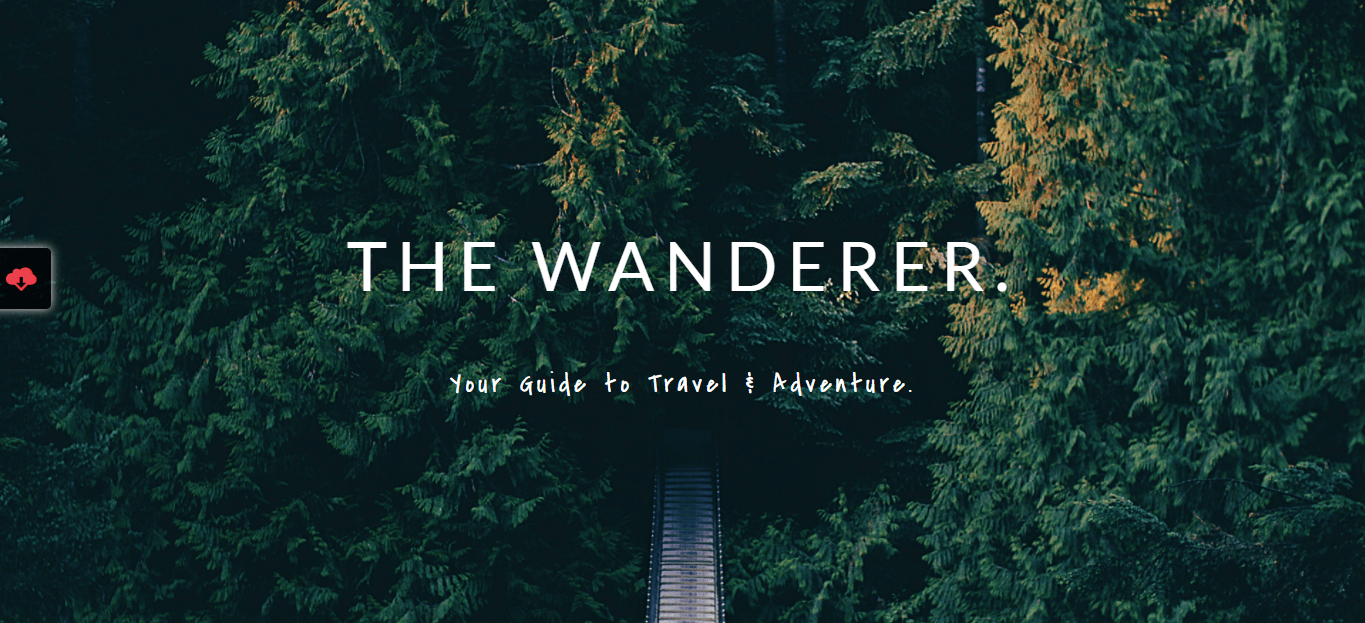 Travel Guide Theme Template