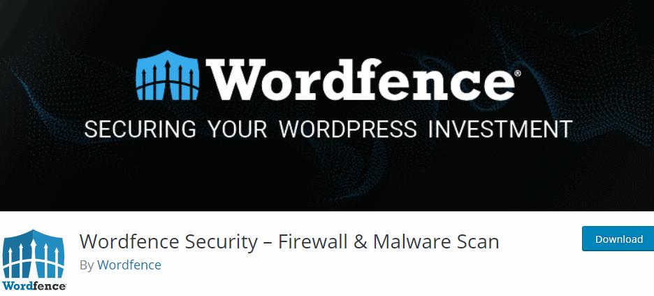 Wordfence Security- Firewall & Malware Scan