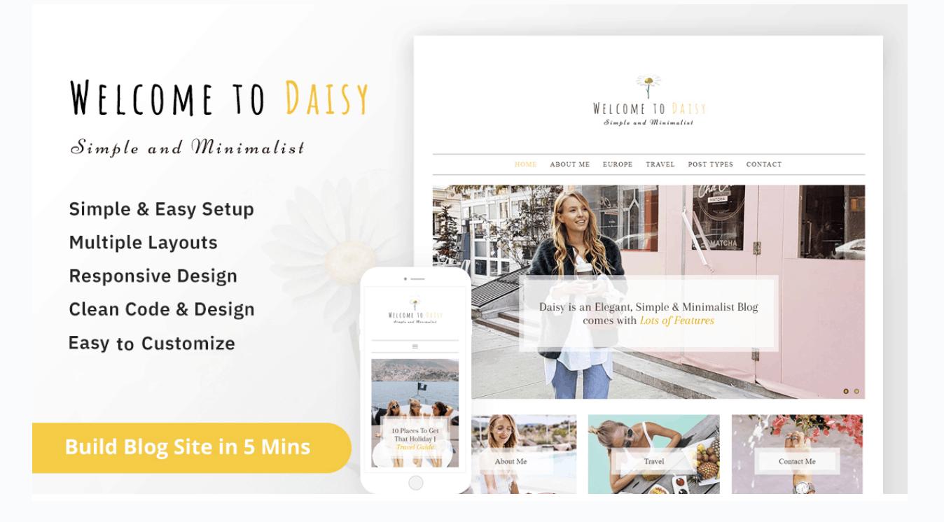 Daisy theme