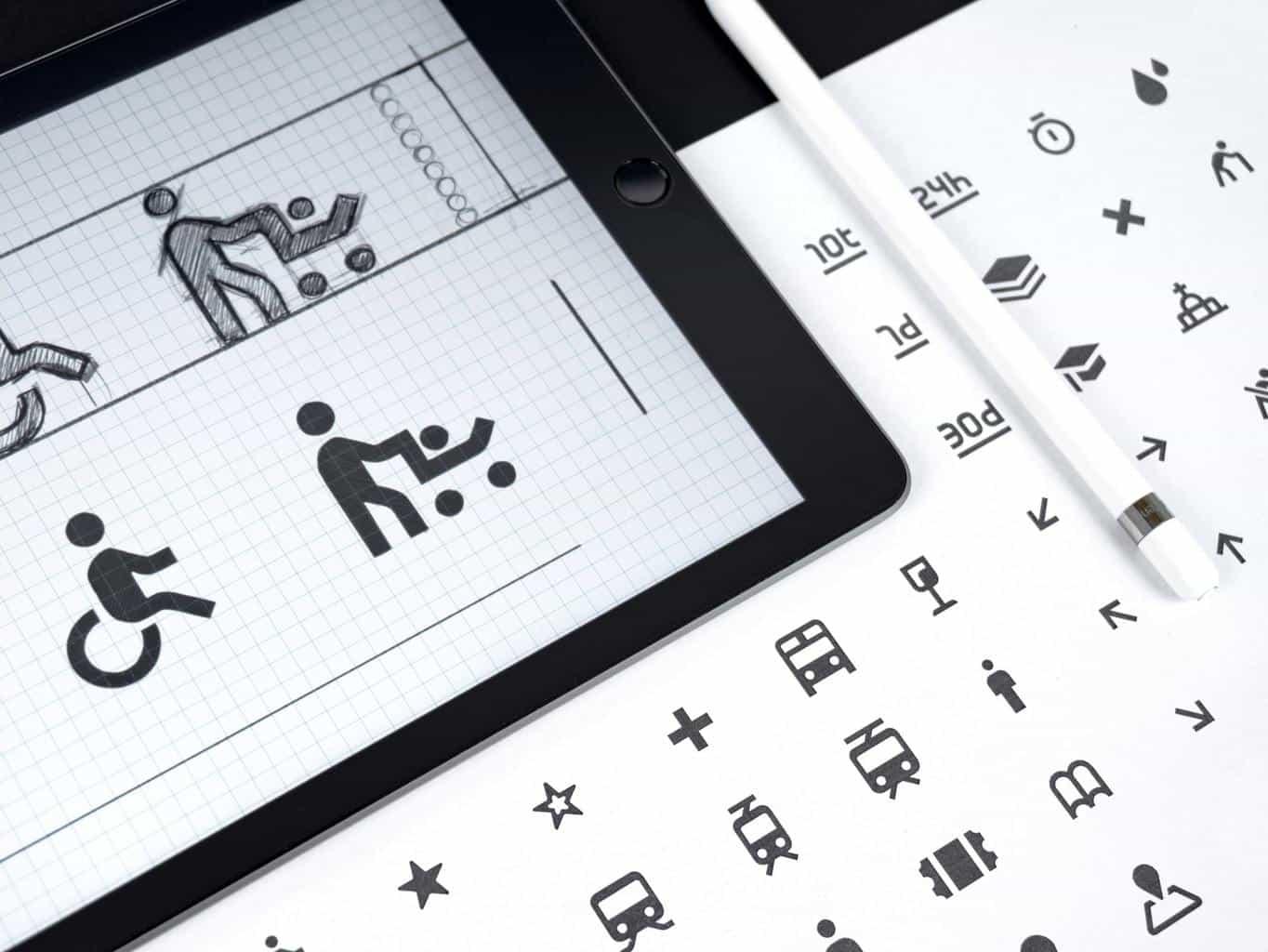 Icons on iPad